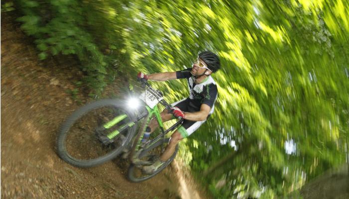 Blog Jens Hoyden: Jens Mountainbike Wald